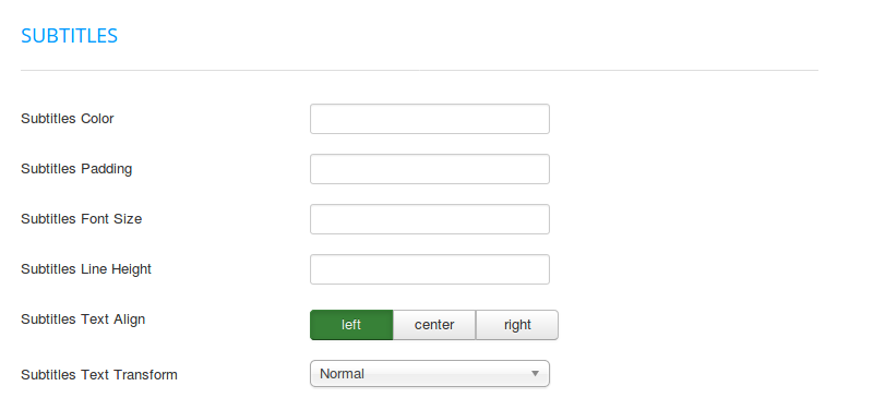 FavThemes tutorial for the module subtitle template settings